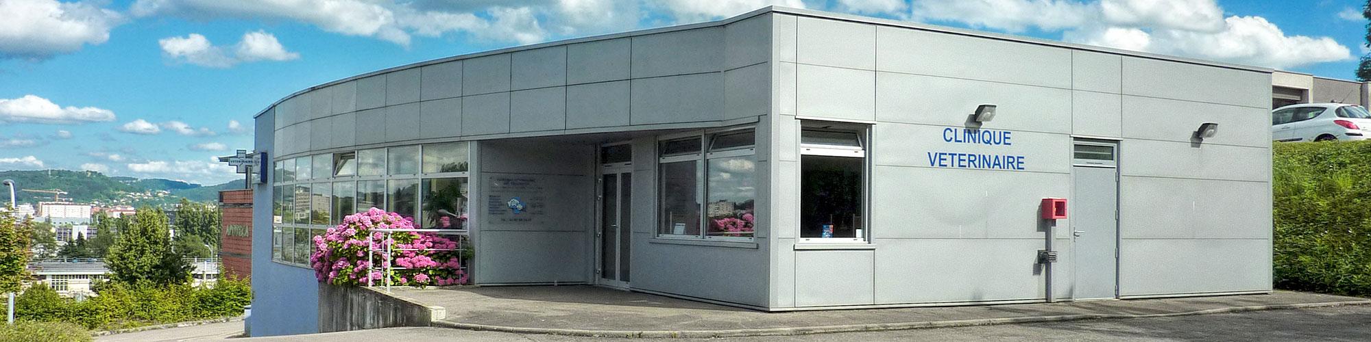 Batiment de la clinique vétérinaire des Tilleroyes à Besançon